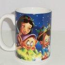Disney Store Coffee Mug Snow White Dopey Pinocchio Pooh Mickey Tink Cup Retired