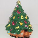 Christmas Tree Cookie Jar Bears Train Horn Angel Ornamnets Cookies Ceramic