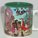 Walt Disney Jungle Book Tea Coffee Mug Retired Vintage Japan Collectible
