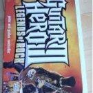 GUITAR HERO 3 III LEGENDS OF ROCK FOR NINTENDO WII