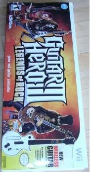 GUITAR HERO 3 III LEGENDS OF ROCK FOR NINTENDO WII