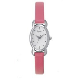 43T03  Bulova Ladies Caravelle Quartz Oval Case / Strap Watch