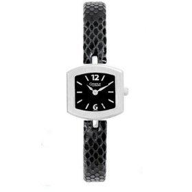 43L93  Bulova Ladies Caravelle / Black Dial / Black Strap Watch