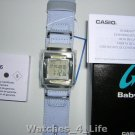 BG-180DM-2BVER  Casio Ladies Baby G Shock Chronograph Watch