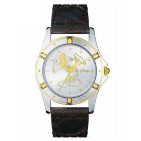 Mickey Watch With Braided Genuine Leather Strap MU2559