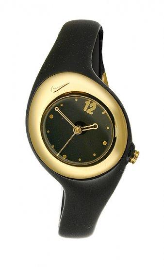 Nike Triax Smooth Watch - Black/Metallic Gold - WR0070-005