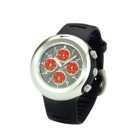 Nike Men's Oregon Series Analog Chronograph Watch (Grey/Red) WA0022-029