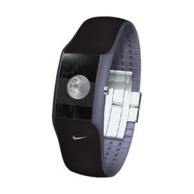 Nike Merge Leap Women's Watch - Black/Purple Steel/Silver - WC0048-037