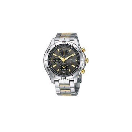 PF3485 Chronograph Mens Gold/Stainless Steel Watch