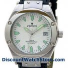 Croton Men's Stainless Automatic / Strap Watch CA301061BSWH