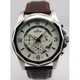 Croton Men's 3-Eye Chronograph Watch, Model - cc311133brdw