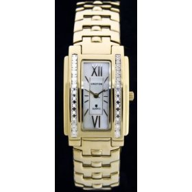Croton Ladies Diamond Dress Watch, Model - cr207824ylmp