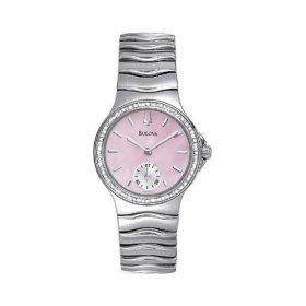 Bulova 96R57 Diamond Series Mother of Pearl Dial