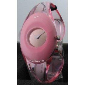 Brand New Ladies Nike Presto Duo Analog Watch Translucent Pink WT0023-608