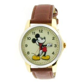 Disney Mickey Mouse Large Face with Calendar Unisex Watch MC0942