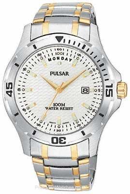 Pulsar by Seiko Men's TT Quartz Chronograph Alarm PVM025