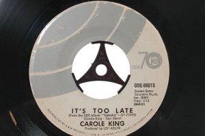 """CAROLE KING I Feel The Earth Move 7"""" ODE 45 RPM"""