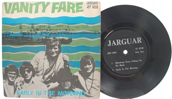 "VANITY FARE Peter Paul & Mary MALAYSIA 7"" PS EP"