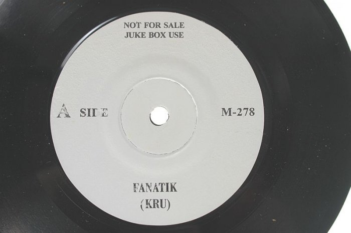 "KRU Fanatik MALAYSIA POP BAND 90s 7"" Rare"