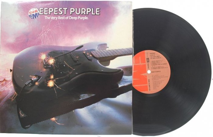 DEEP PURPLE The Best Of SINGAPORE EMI Harvest LP