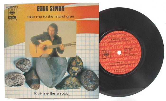 "PAUL SIMON & GARFUNKEL Kodachrome / Love Rock MALAYSIA 7"" PS EP"
