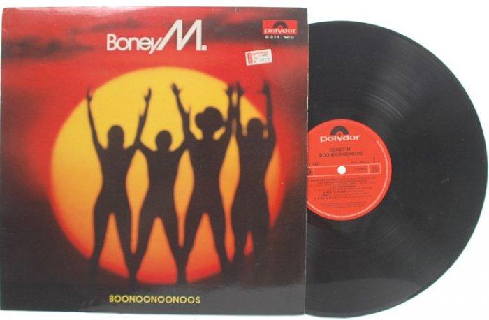 BONEY M Boonoonoonoos SINGAPORE Asia POLYDOR LP
