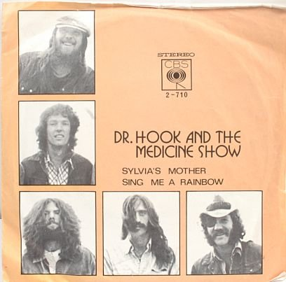 "DR HOOK & MEDICINE SHOW Sylvia's Mother 7"" PS MALAYSIA"