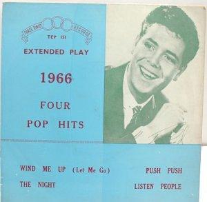 "CLIFF RICHARD 1966 MALAYSIA 7"" PS EP Asia"