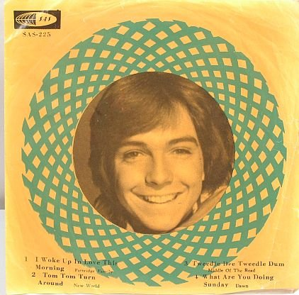 "PARTRIDGE FAMILY David Cassidy MALAYSIA 7"" PS Asia"