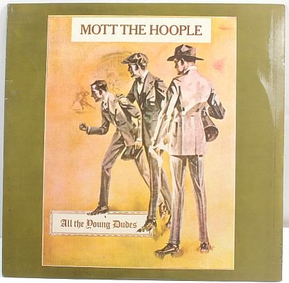 MOTT THE HOOPLE All Young Dudes MALAYSIA LP SAS Rare