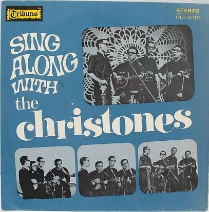 "CHRISTONES Asian Evangelical Christian Band 7"" EP PS"