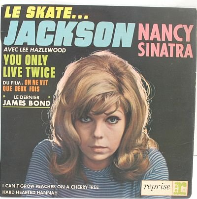 "NANCY SINATRA James Bond LIVE TWICE 7"" PS EP French"
