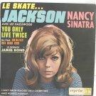 "NANCY SINATRA James Bond LIVE TWICE 7"" PS EP French"