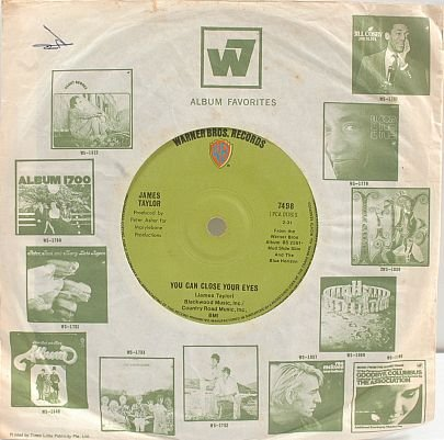 "JAMES TAYLOR Got A Friend CAROLE KING 7"" SP Singapore"