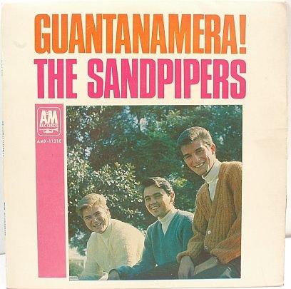 """SANDPIPERS Guantanamera LA BAMBA 7"""" EP PS Australia OZ"""