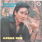 """ANDRE GOH Harapan Kecewa 60s MALAY POP SINGER 7"""" PS EP"""