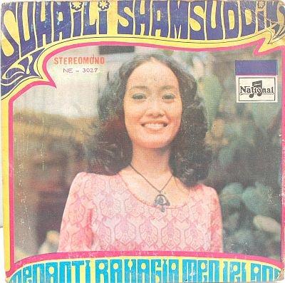"SUHAILI SHAMSUDDIN Menanti 60s MALAY POP 7"" PS EP"