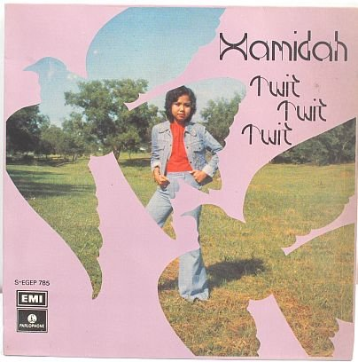 "HAMIDAH Twit Twit Twit 60s Malay Pop 7"" PS EP EMI"