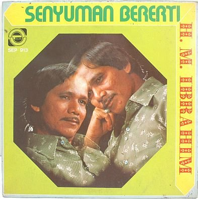 "HM IBRAHIM Senyuman Bererti 60s MALAY SINGER 7"" PS EP"