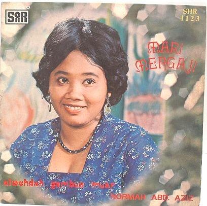 "NORMAH ABD. AZIZ Mengaji 60s MALAY SINGER 7"" PS EP"