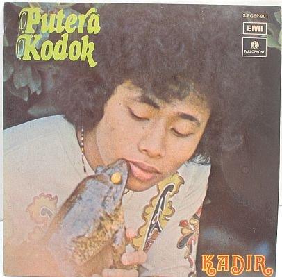 """KADIR Putera Kodok 60s MALAY POP SINGER 7"""" PS EP"""