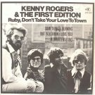 "KENNY ROGERS Ruby Don't Take Your Love 7"" EP Singapore"