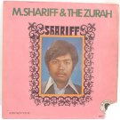 "M SHARIFF & THE ZURAH 60s MALAY POP 7"" PS EP"