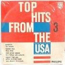 "THE VALIANTS Calcutta HARMONICATS 7"" EP PS Holland"