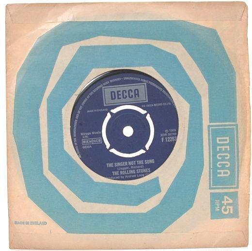 "ROLLING STONES Get Off My Cloud ENGLAND 1965 7"" Decca"