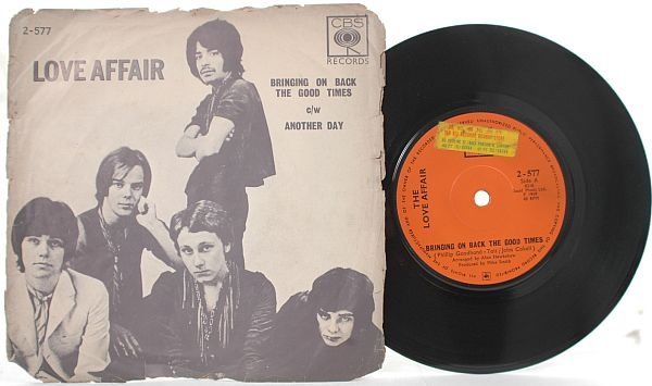 "LOVE AFFAIR Bringing Back ASIA INTERNTIONAL 7"" PS"