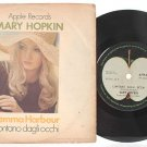 "MARY HOPKIN Temma Harbour INTERNATIONAL ASIA 7"" PS"