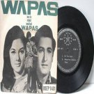 "BOLLYWOOD INDIAN Wapas LATA MANGESHKAR  7"" 45 RPM PS"