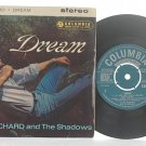 "CLIFF RICHARD & SHADOWS Dream ENGLAND 7"" PS EP Mono"