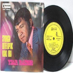 """Malay 70s TJAR RAMON Syorga Ditelapak Kaki Ibu 7"""" PS EP"""